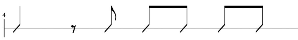rhythmic variation idea 3